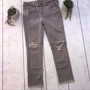 American Eagle Cropped Jegging Jeans Super Stretch